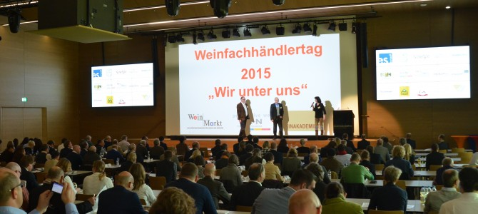 Kleine Heatmap zum Weinfachhändlertag 2015